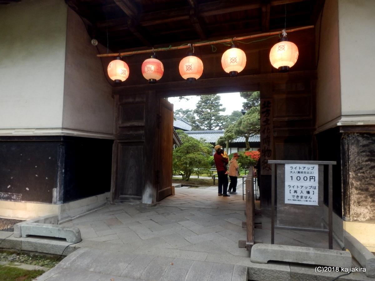 北方文化博物館・大藤棚ライトアップ2018