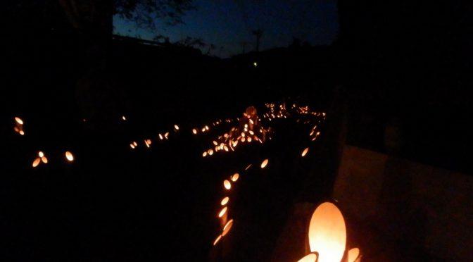 幻想的なむらかみ宵の竹灯籠まつり2017(新潟県村上市)
