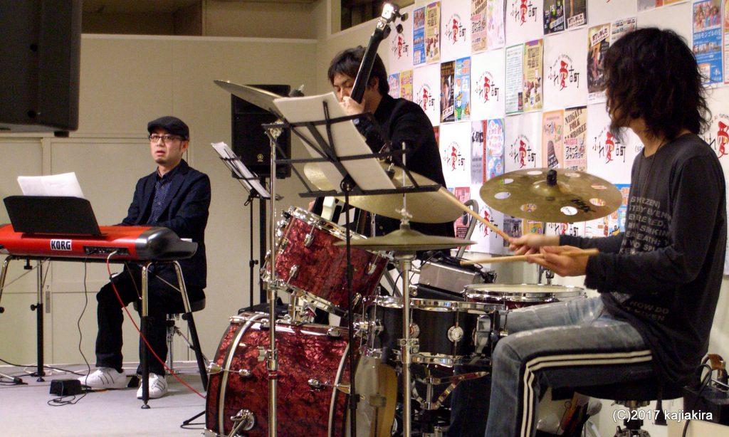 斉藤伸宜Trio of Funk Version@第17回新潟ジャズストリート201101 ふれ愛古町