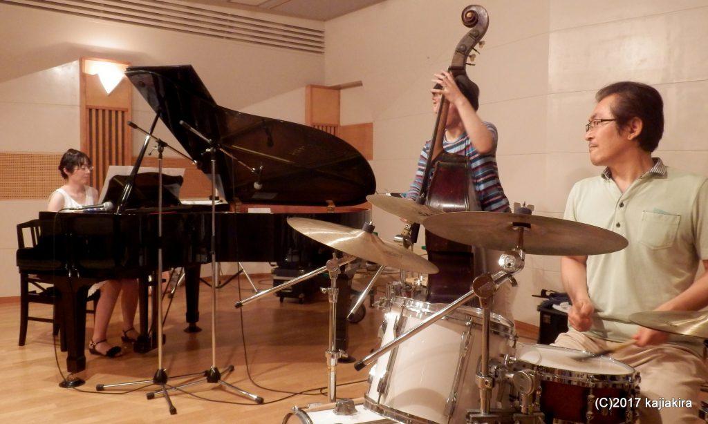 さとみトリオ@第24回新潟ジャズストリート201407 新潟市音楽文化会館練習室13