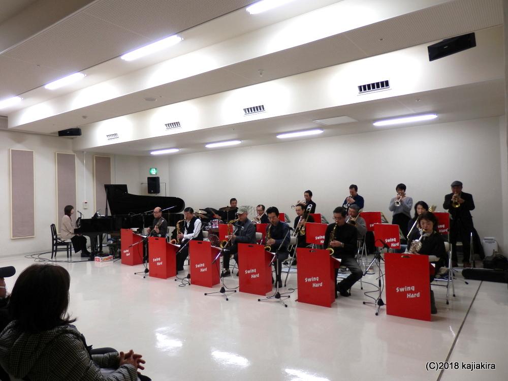 スイングハードジャズオーケストラ@音楽文化会館練習室10★第31回新潟ジャズストリート