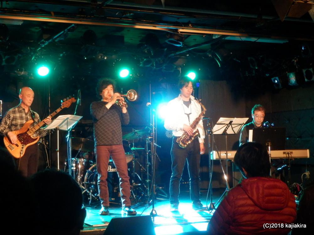 ジャズパル アヘッド@LIVE HOUSE 新潟SHOW!CASE!!★第31回新潟ジャズストリート
