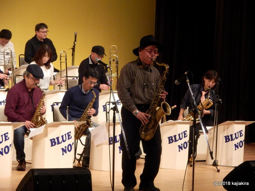 Blue Note Jazz Orchestra@音楽文化会館ホール★第31回新潟ジャズストリート