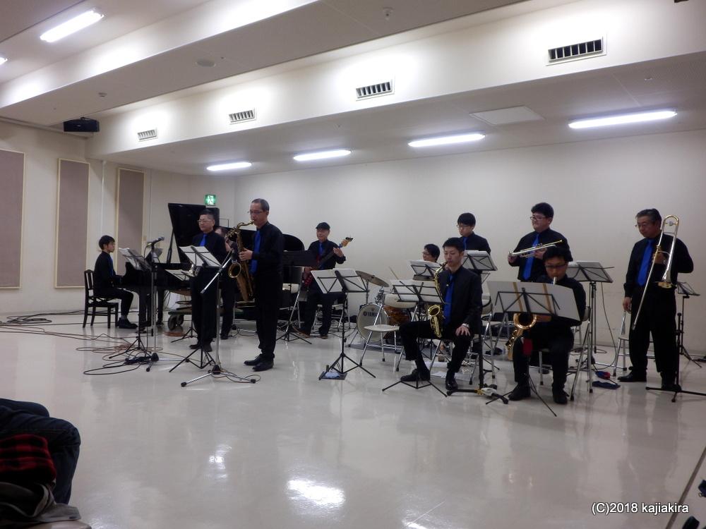 Blue Coast Jazz Dectet@音楽文化会館練習室10★第31回新潟ジャズストリート