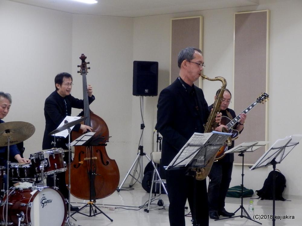 今タクオグループ@音楽文化会館練習室10★第31回新潟ジャズストリート