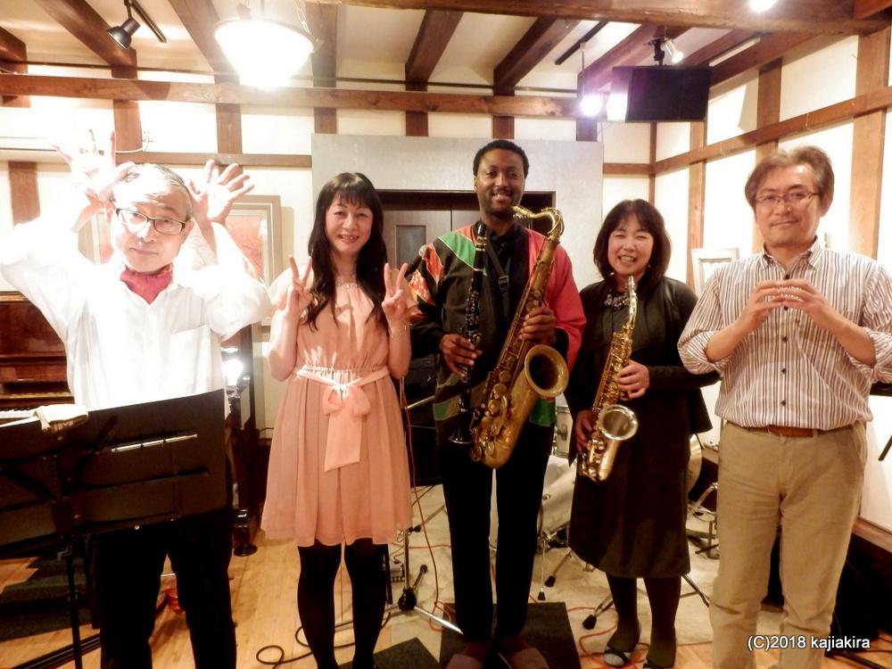 Satomi Trio@蔵織★第31回新潟ジャズストリート