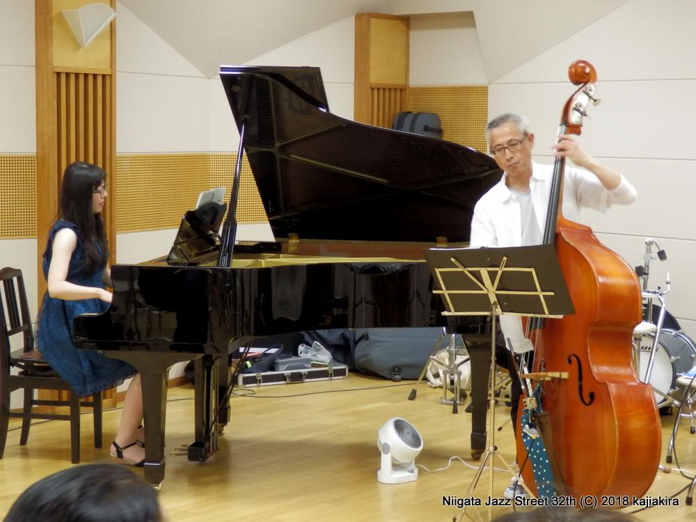 Satomi Trio@音楽文化会館 練習室13☆第32回新潟ジャズストリート