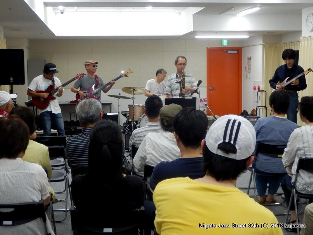 今タクオmodal soul @柳都オレンジスタジアム 3F 3CDスタジオ☆第32回新潟ジャズストリート