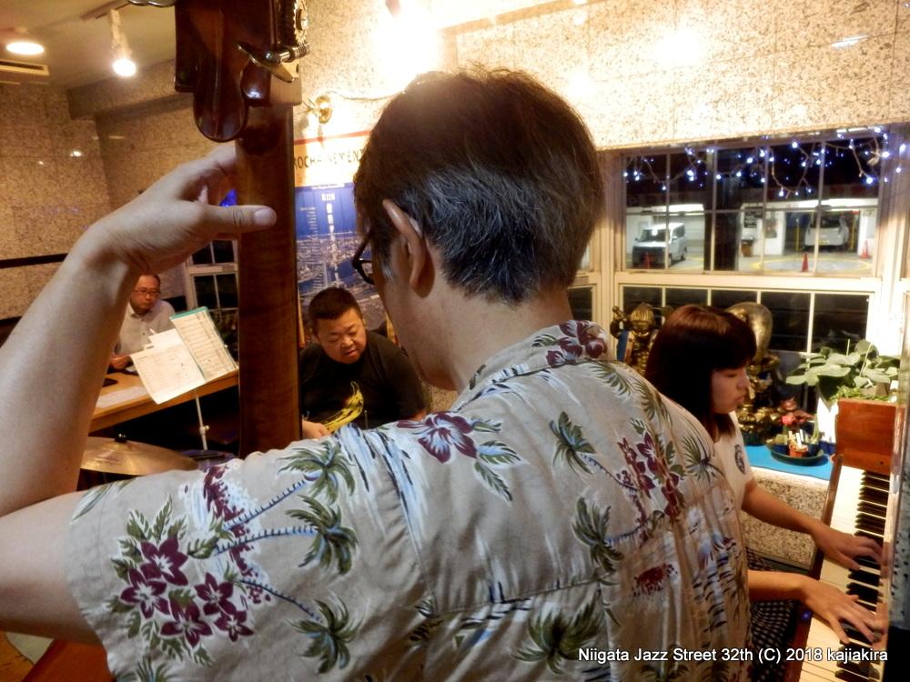 Blue moon cats @本町通八☆第32回新潟ジャズストリート