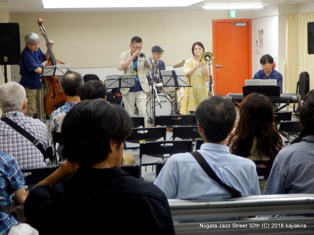 S'Wonderfull @柳都オレンジスタジアム 3F 3CDスタジオ☆第32回新潟ジャズストリート