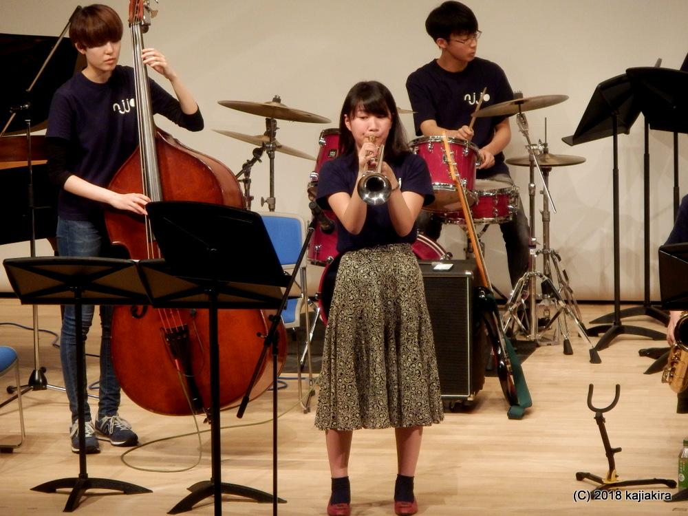 新潟ジュニアジャズオーケストラ・スプリングコンサート2018
