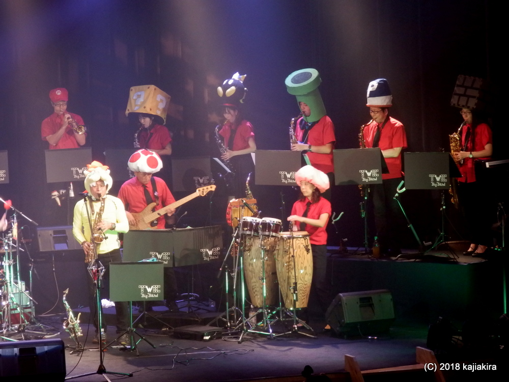 TWE big band LIVE 2018[長岡市・栃尾市民会館]