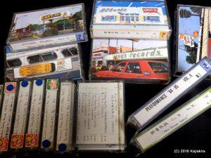 山下達郎さんのラジオをエアチェックしたテープたち